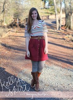 I'm very happy to announce the release of my newest sewing pattern – the Kelly skirt! I am honestly so excited about this pattern! It's aimed at a beginner level, so all of the pattern pieces have been kept to simple shapes to aid with construction and alterations. It works beautifully with a variety of …