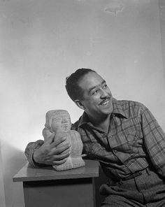 Langston Hughes  Photo by Gordon Parks/Library of Congress