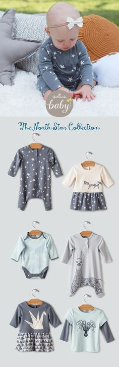 Introducing the North Star Collection. Cozy pieces with sweet frills for your little. Ideal as you find yourself on the way to winter. Click to navigate to the collection.