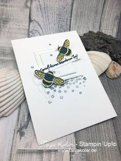 Welcome to the Global Design Project We are thrilled to have our guest designer Claudia Maser join us this week. Dragon Dreaming, Bee Cards, Gift Cards, Workshop, Stampin Up Catalog, Global Design, Stamping Up, Stampin Up Cards, Cardmaking