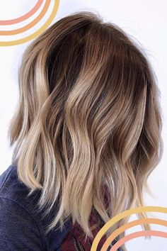 Chunky Blonde Highlights, Brown Blonde Hair, Hair Highlights, Wavy Hair, Platinum Highlights, Caramel Highlights, Color Highlights, Blonde Brunette Hair, Blonde Fall Hair Color