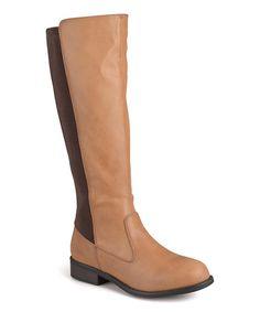 b582c8a6b655 Journee Collection Chestnut Light Wide-Calf Riding Boot. Wide Calf BootsKnee  High ...