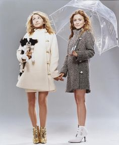 Photo of 2003 October - Teen Vogue Magazine for fans of Mary-Kate & Ashley Olsen 18110285 Mary Kate Olsen, Mary Kate Ashley, Elizabeth Olsen, Olsen Sister, Olsen Twins, Ashley Olsen, Olsen Fashion, High Fashion, Sigerson Morrison