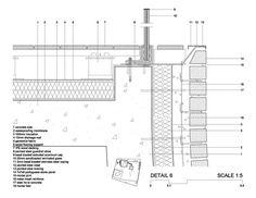 Image result for glass balustrade membrane roof detail