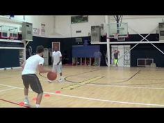 Since basketball is a game where the action that we focus on takes place with the hands, it is an easy thing to overlook the importance of footwork.  Good footwork on defense helps players stay on balance, play in better position, and avoid fouling.  On offense, good footwork helps in positioning, faking, and reducing turnovers. …