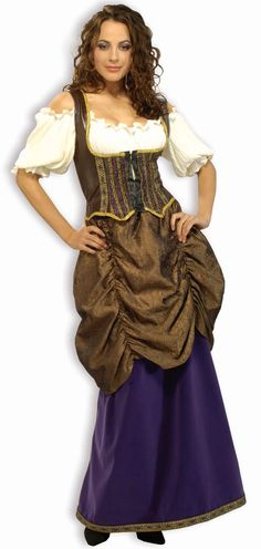 6a5ab184f54d0 Pirate Wench Ladies Plus Size Deluxe Costume