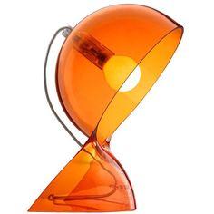 Designer Clothes, Shoes & Bags for Women Orange Table Lamps, Design Bestseller, Art Deco Lighting, Design Moderne, Art Object, Light Table, Home Interior Design, Decoration, Floor Lamp