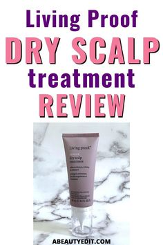 Living Proof Restore Dry Scalp Treatment is a savior for dry, itchy, irritated scalps with its hyaluronic-acid-based Molecular Patch and vitamin B3 based microbiome balancing complex. I put it to the test for four weeks and loved the results.  #haircare #haircaretips #haircareroutine