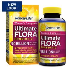 Ultimate Flora Women's Complete Probiotic 90 Billion