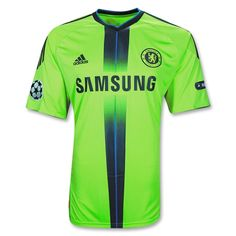 Chelsea 10/11 Third Champions League Soccer Jersey. To make sure I would be spotted wherever I went.