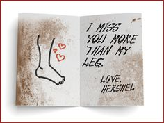 "Hershel Greene | 15 Valentine's Day Cards Written By ""The Walking Dead"" Characters"