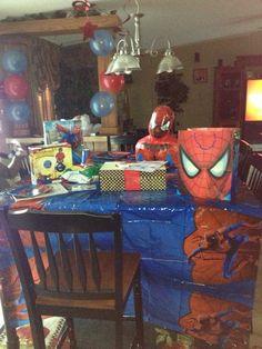 SpiderMan love!!! My sons Birthday!!!!