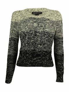 INC International Concepts Women's Marled Cable Knit Sweater -- Find out more details by clicking the image : Fashion
