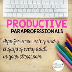 In my region of the country we call our paraprofessionals teacher aides, but I am aware that through most of the country these God sent . Life Skills Classroom, Autism Classroom, Classroom Ideas, Disney Classroom, Classroom Behavior, Co Teaching, Teaching Special Education, Teaching Ideas, Teacher Education