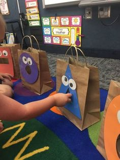 Feed the Shape Monsters! Fantastic beginning of the year shape activity for Preschool, PreK and Kindergarten. Fun, engaging and developmentally appropriate!
