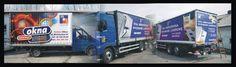 Reklamy drukowane na plandekach__samart_pl Trucks, Vehicles, Truck, Rolling Stock, Vehicle, Cars, Tools