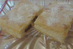 Jednoduchý tvarohový koláč zo starej kuchárskej knihy.