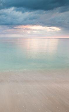 Serene beach landscape #FeelGoodSights