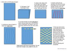 Op Art Paper Weaving (3rd and 5th)