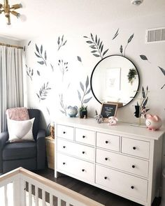 Need an easy DIY to spruce up the nursery? These decals are easy to install, are gender neutral and work for any style nursery!