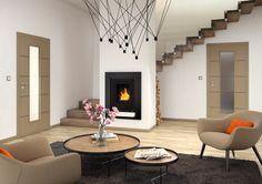 Interiérové dveře Sapeli - NOTE dýha hedvábí šedé Sky Garden, Decor, Home, Fireplace, Home Decor