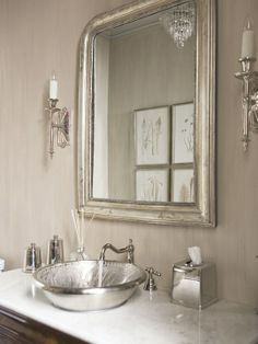 Samovar Silver Paint By Sherwin William Design, Pictures, Remodel, Decor and Ideas - page 2 (washed silver white for store).