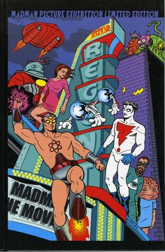 Madman comic by Mike Allred