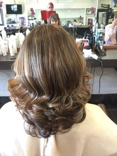 New hi lites and curls by Jenn