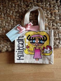 Kaitedh Small Jute Bags, Reusable Tote Bags