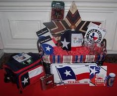 a Texas gift basket -I'll take one!