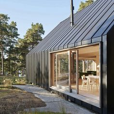 In Stockholm, Sweden - House Husaro by Tham & Videgård Arkitekter. Photographed by Ake Eson Lindman. #architecture #architect