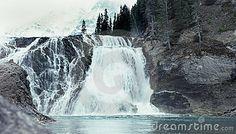 Wapta Falls, Yoho, British Columbia, Canada