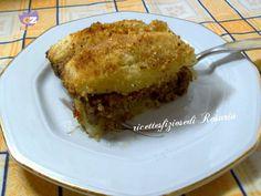 Pasticcio di patate e carne macinata - ricettesfiziosedirosaria