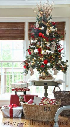 Savvy Southern Style: Oh Little Christmas Tree