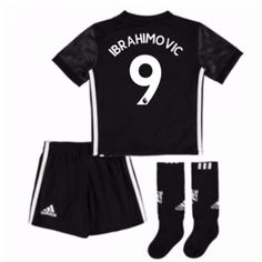 Manchester United Zlatan Ibrahimovic 10 kläder Barn 17-18 Bortatröja Kortärmad  #Billiga fotbollströjor Manchester United, Marcus Rashford, Gym Men, Trunks, The Unit, Swimwear, Fashion, Juan Mata, Drift Wood