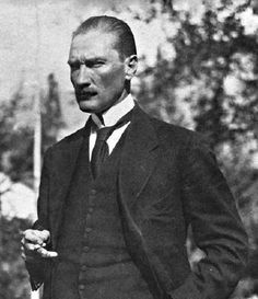 Mustafa Kemal Atatürk, the founder of the Turkish Republic and its first President.