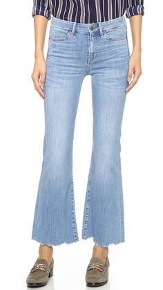 Lou Cropped Flare Jeans