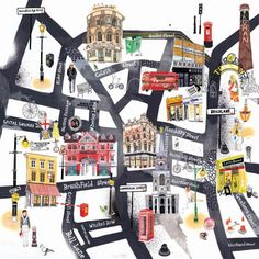 Olaf Hajek Laura Carlin Sharon King-Chai… Maria Carluccio… Here are some fab London maps, with the winner of the London Transport Museum's…
