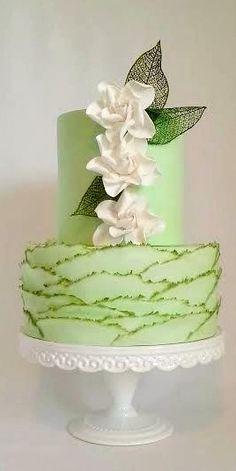 March Gardenias Cake