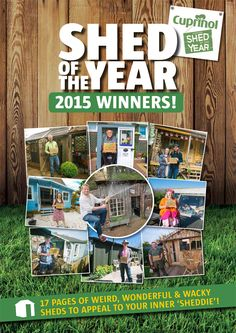 Good Woodworking's 300th issue - features ALL the sheds