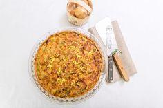 Cibulový koláč Ethnic Recipes, Pizza, Food, Essen, Meals, Yemek, Eten