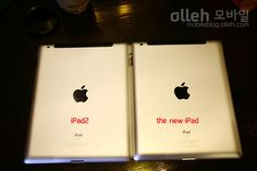 Apple device. The new iPad. KT LTE WARP.