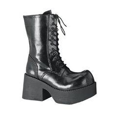 Platform Combat Boots at SinisterSoles.com