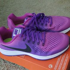 outlet store 565a1 70352 Nike Shoes   Nike Purple Pegasus Tennis Shoes   Color  Purple   Size  7