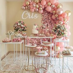 Outdoor Wedding Decorations, Table Decorations, Birthday Balloon Decorations, 40 And Fabulous, Its My Bday, Color Rosa, Party Time, Balloons, Birthdays