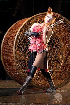 Showcased KA's characters | Cirque du Soleil KÀ | KÀ