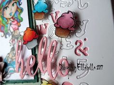 Tim Holtz, Kenny K stamps, Copic marker, janes doodle, timholtzdies,