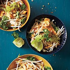 Pad Thai Wonder which is better, this recipe or the one I was given by a friend (and also chef?) Classic Pad Thai RecipeWonder which is better, this recipe or the one I was given by a friend (and also chef? Asian Noodle Recipes, Thai Recipes, Asian Recipes, Chicken Recipes, Healthy Recipes, Sauce Recipes, Drink Recipes, Thai Cooking, Asian Cooking