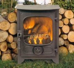 Charnwood Country 4 Wood Burning Stove - this is the one we liked in Trews - - WoodWorking Wood, Stove, Country, Interior, Wood Burner Fireplace, Woodworking, Home Appliances, Wood Burning Stove, Fireplace