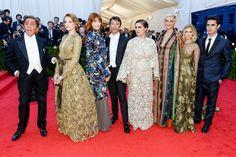 #Valentino at the MET GALA 2014  #fashion #designers #redcarpet